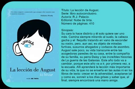 leer online la leccion de august lost minds la lecci 243 n de august de r j palacio