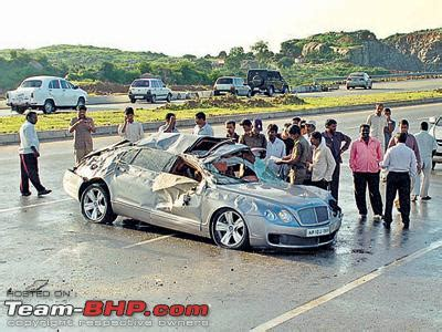 bentley hyderabad car crash bentley car crash in hyderabad