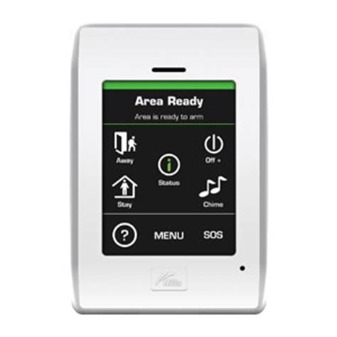 touchnav alarm code pad home security