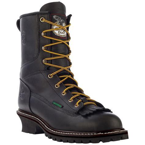 s 174 logger work boots black 186280 work
