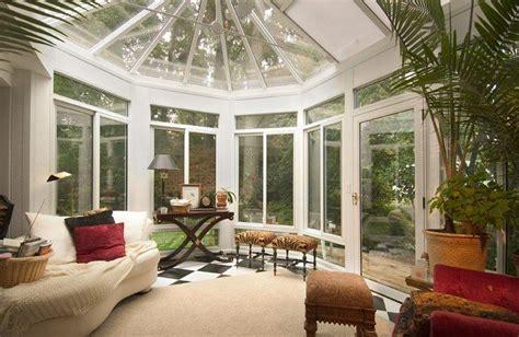 Inside Sunrooms Inside A Simple Sunroom Home Elements
