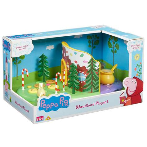 peppa pig swing playset peppa pig once upon a time woodland playset new ebay