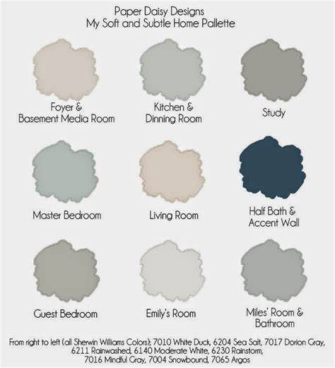 whole house color palette the power of paint sherwin williams painting week paper