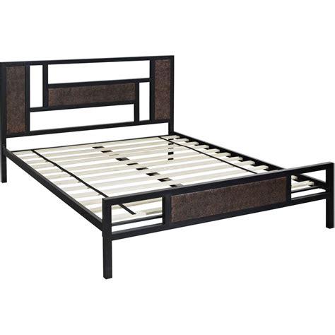 Metal Platform Beds Zinus Modern Studio Black Queen Platform Bed Hd Asmph 15q