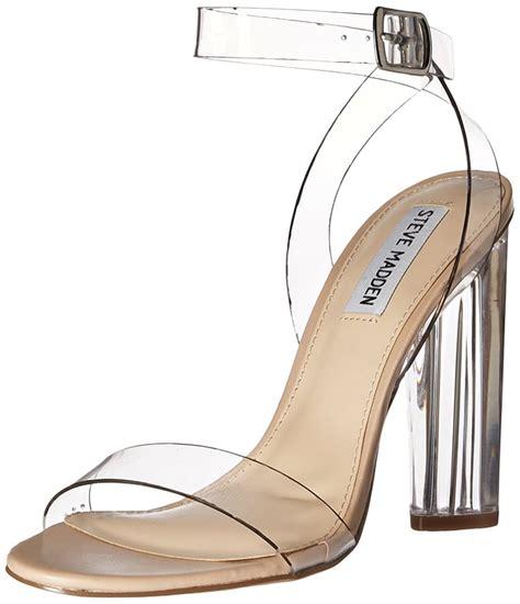 Steve Madden Clear Heels by Steve Madden Teena Clear Heel Beyonce Wearing Clear Heels Popsugar Fashion Photo 11