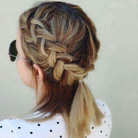 trenzas en pelo corto trenzas para cabello corto