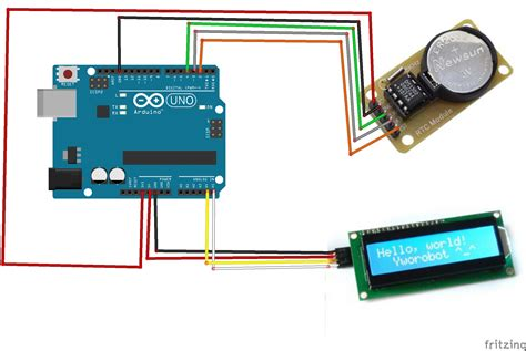 code arduino clock use arduino to drive ds1302 clock module 171 osoyoo com