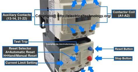 contactor relay wiring diagram telemecanique contactor