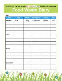save money by keeping a food waste diary squawkfox