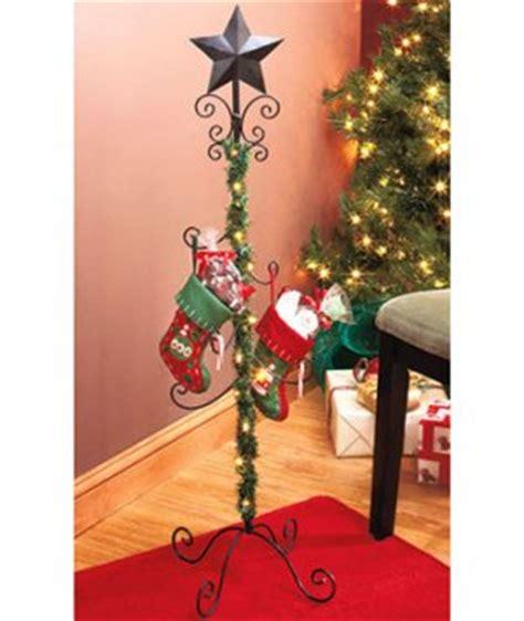 new standing christmas holiday lighted garland iron