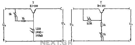 photoresistor light circuit light sensor circuit page 2 sensors detectors circuits next gr
