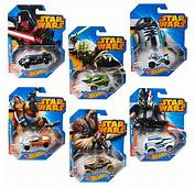 Star Wars Hot Wheels 164 Character Car Case Wave 1 Rev