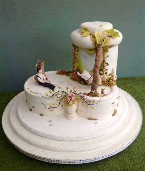 This Cake Received A Gold Medal At The Cake International - this cake received a gold medal at the cake international