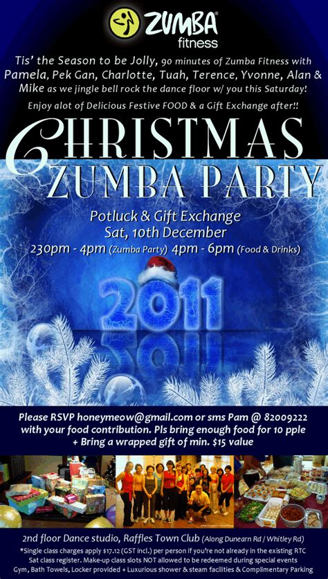 dreaming reality zumba christmas party