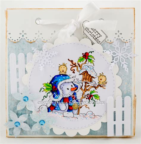 Marriane Frosty anet s crafting miss frosty winter challenge