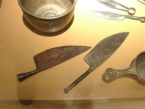 Kitchen Knives Greece Socketed And Plane Kitchen Knife Cookery