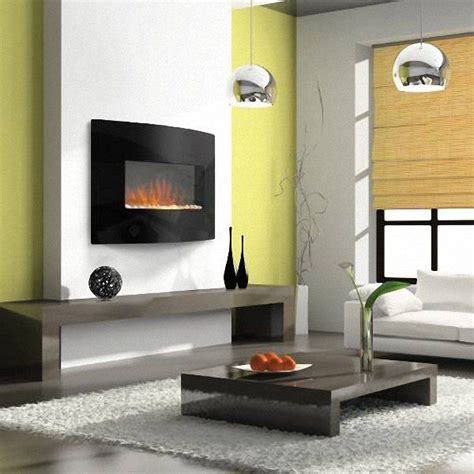 Wall Mount Fireplace Ideas by 1000 Ideas About Wall Mount Electric Fireplace On