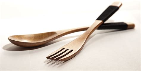 Spoon Fork wooden forks and spoons no more metal taste asia by frida