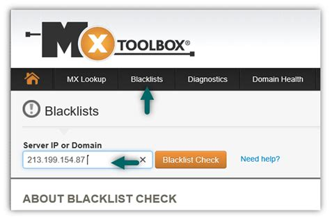 Ip Address Blacklist Lookup My E Mail Appears As Spam Troubleshooting Mail Server