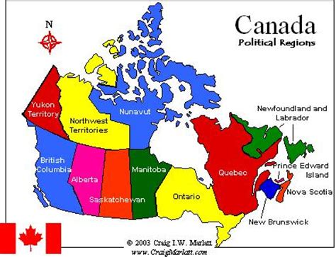 canadainfo: provinces & territories