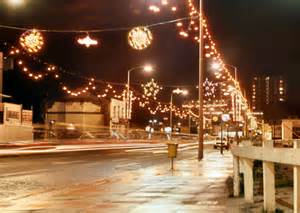 sheffield christmas lights sheffield lights 1972 169 david dixon geograph britain and ireland