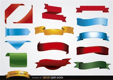 imagenes con formas ocultas formas de color banner descargar vector