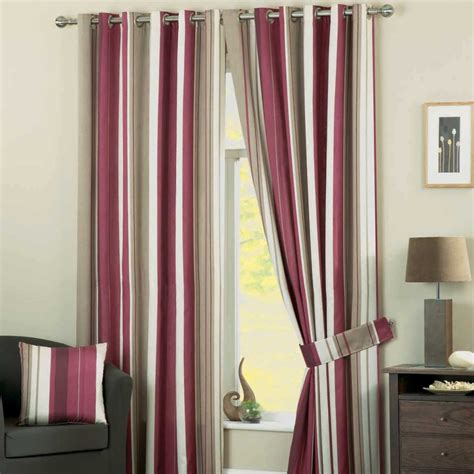 red and white striped curtains white curtains grey and red stripe furnishing ideas