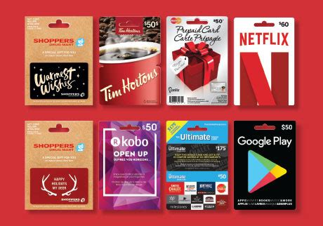 My Gift Card Mall Balance - gift cards shoppers drug mart