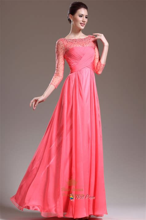 Next Pink Dress pink prom dresses with sleeves pink prom dresses with