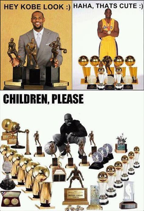 Kobe Lebron Jordan Meme - jordan vs lebron vs kobe really children please