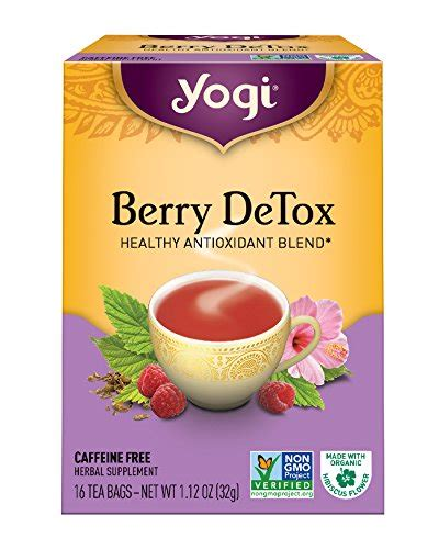 Yogi Berry Detox Test by Shop Tea Store The Tea Supply