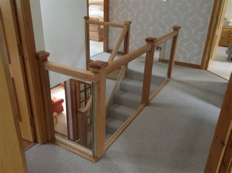 glass banister cost replacement staircase stairbox staircases