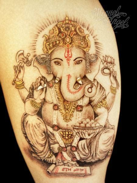 ganesh tattoo in hand tattoos of the god ganesh create a skin religion 171 tattoo