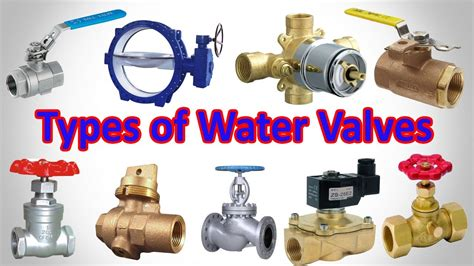 Plumbing Types by Types Of Water Valves Plumbing Valve Types