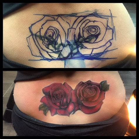 ugly rose tattoo 60 amazing cover up tattoos pictures before and after you