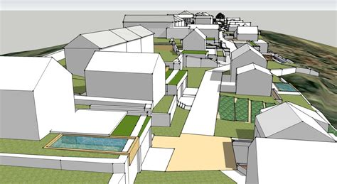 hill design concept country villas and holiday home resort development in