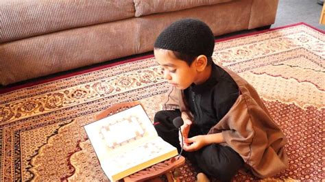 read quran 5 year old reading the holy quran youtube