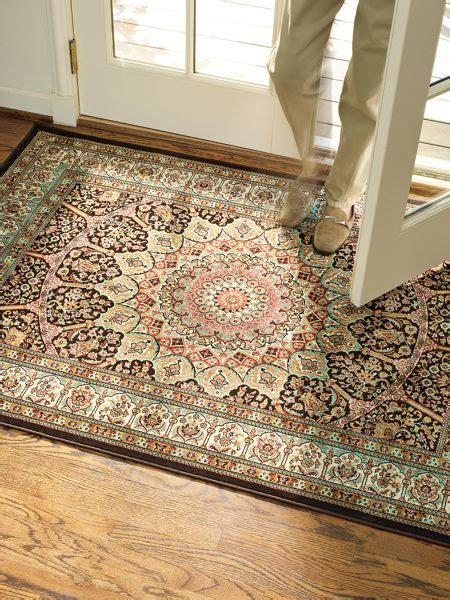 low profile entry rug low profile runner easy care entryway runner solutions