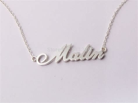 how to make personalized jewelry custom name necklace personalized necklace 925 silver