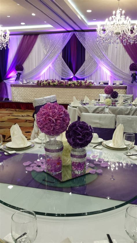purple and gold table decorations 342 best images about purple centerpieces and weddings on