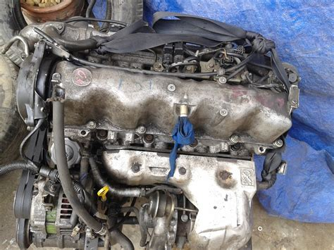 Spare Part Mesin Truck Mobil Second mesin wl ford ranger 2 5cc