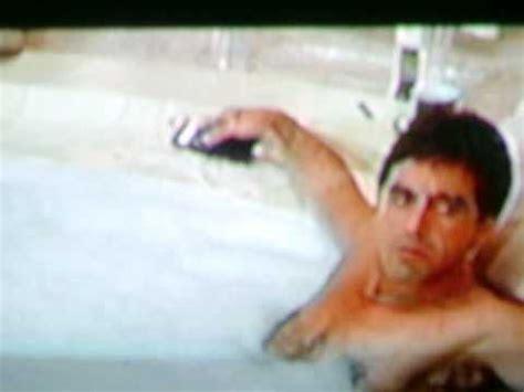 tony montana bathtub scarface i was kidding youtube
