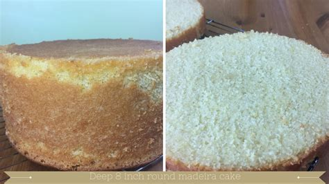deep 8 inch round madeira cake recipe meadow brown bakery