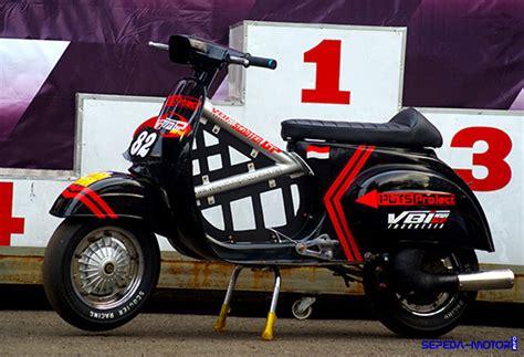 bengkel modifikasi vespa di trik modifikasi vespa racing untuk balapan info sepeda motor