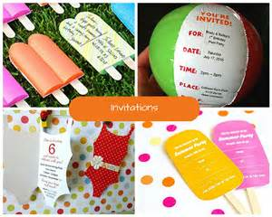 Summer Party Reminder kids pool party ideas summer party ideas at birthday in