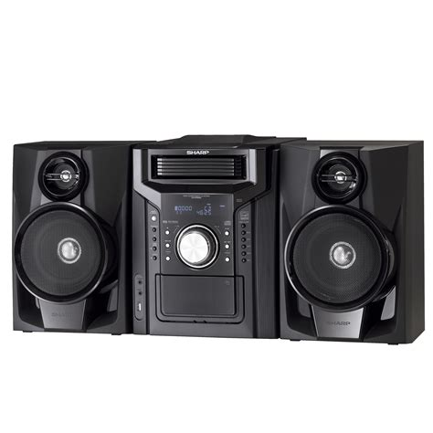 Sharp Shelf Stereo System by Sharp Shelf Audio System Big Sound From A Small System