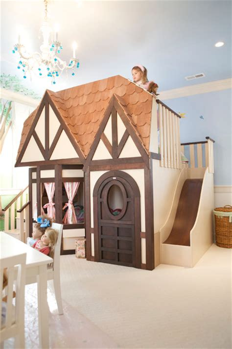 doll house bedroom girls dollhouse playhouse bed with slide kids las vegas by sweetdreambed com