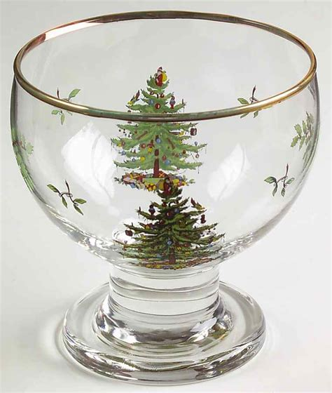 spode christmas tree green trim pattern spode christmas tree green trim ice cream pudding bowl