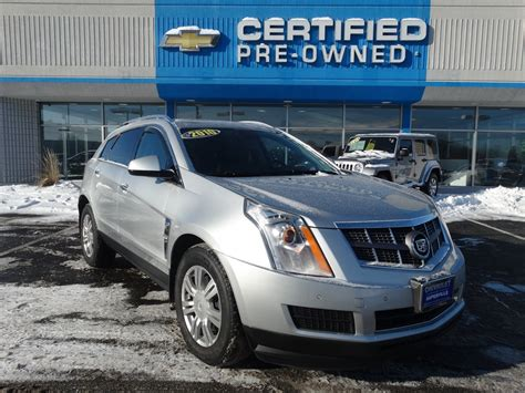 Cadillac Srx Pre Owned by Pre Owned 2010 Cadillac Srx Luxury Collection Sport