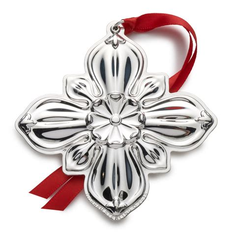 gorham christmas cross 2016 gorham silver christmas ornament